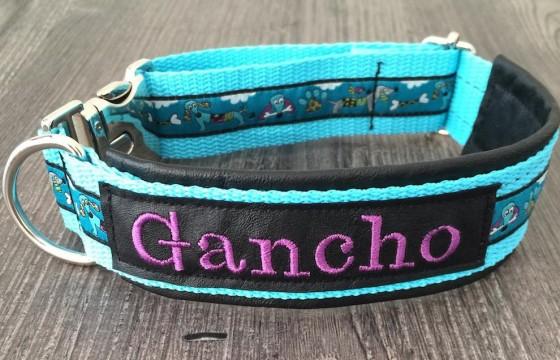 Sehr schickes Hundehalsband für den großen Gancho