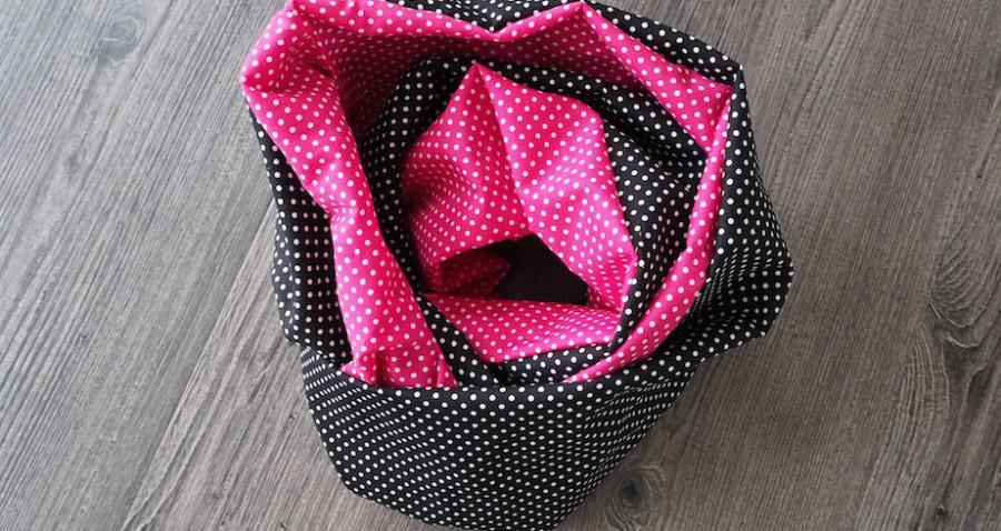 Loop pink / schwarz